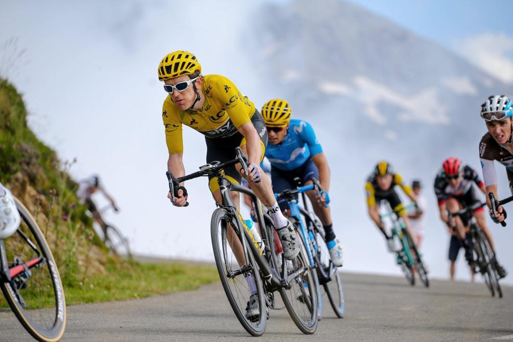 Geraint Thomas à 116 km de la victoire finale — Tour de France