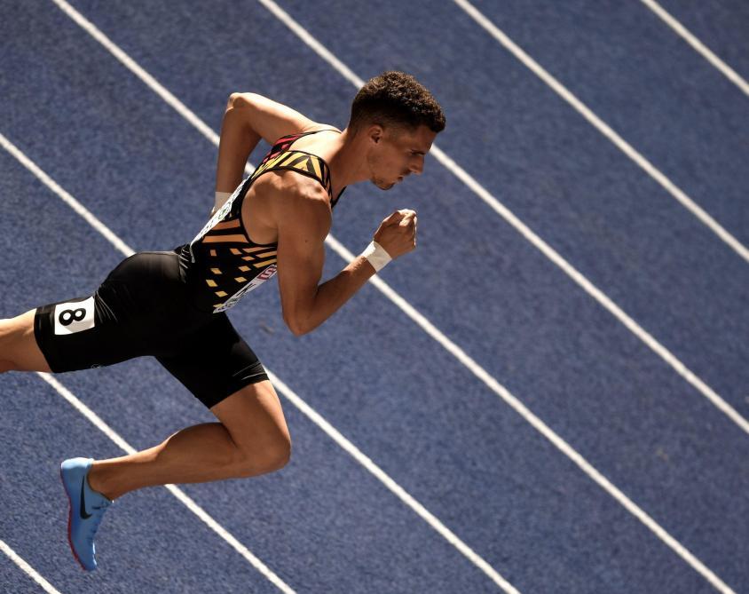 Euro d'athlétisme: Kevin et Jonathan Borlée terminent respectivement à la 2e et 3e place du 400m