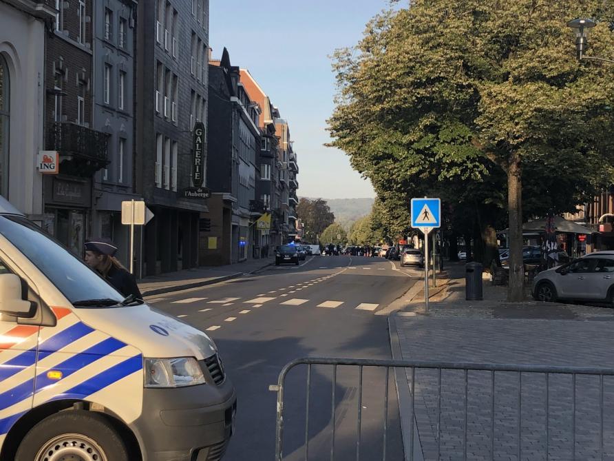 Policier abattu à Spa  un périmètre de sécurité établi - Le Soir c0d3f1751b9c