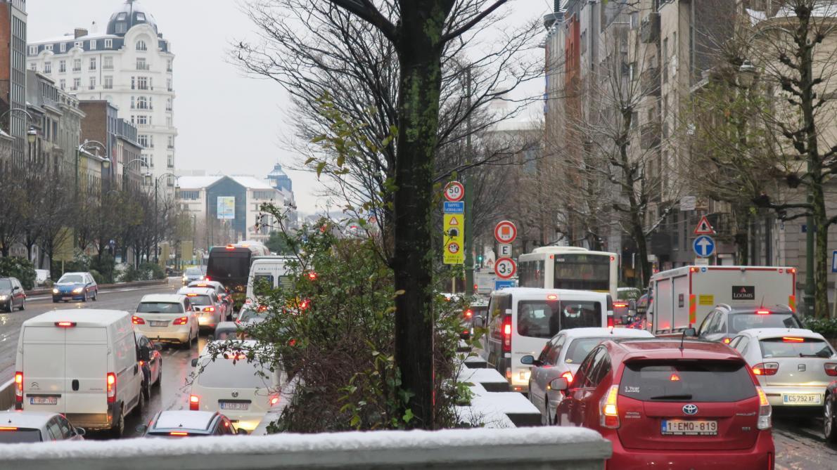 Fin de la phase de vigilance routière renforcée en Wallonie