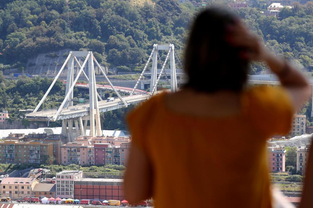 Gênes. Quand la maquette du nouveau pont… s'effondre