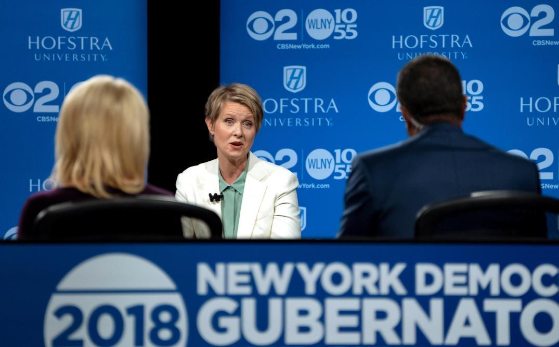 L'actrice Cynthia Nixon candidate au poste de gouverneur de New York — États-Unis