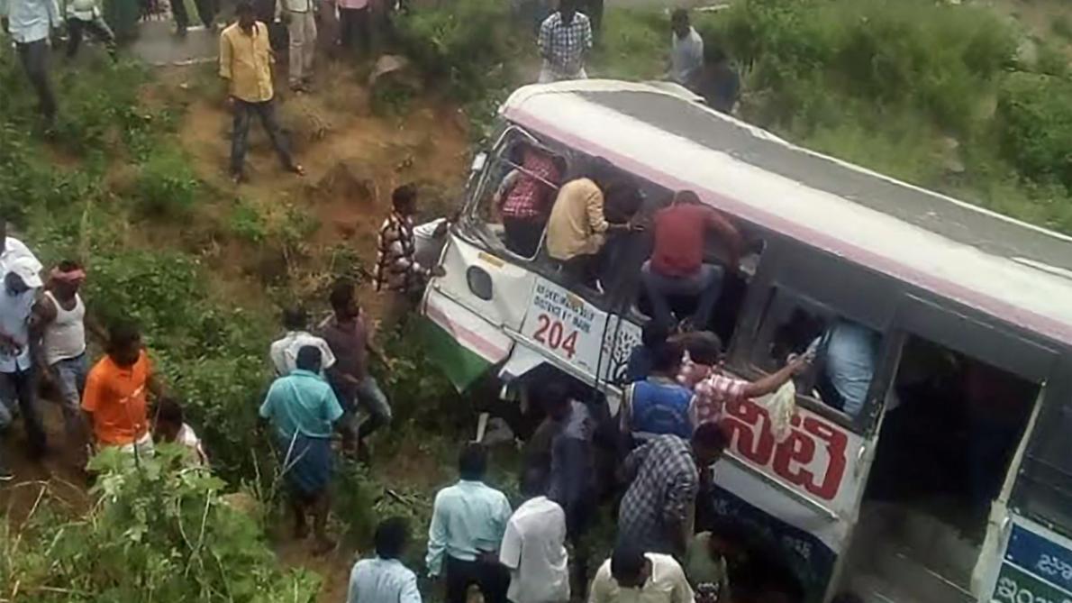 Inde  50 morts dans un accident de bus - Le Soir f9d577b8c7d