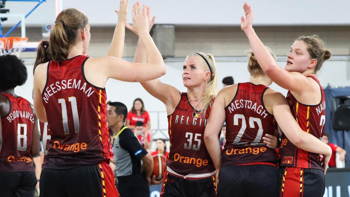 Coupe du monde de basket dames carton plein pour les belgian cats face porto rico le soir - Coupe du monde de basket ...