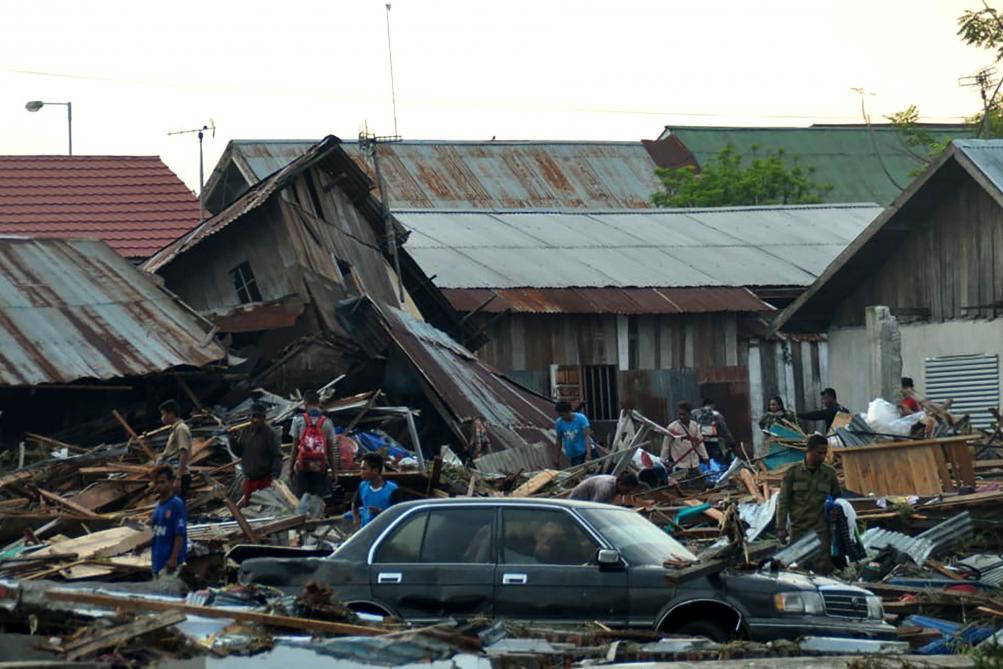 Séisme suivi d un tsunami en Indonésie  plusieurs centaines de détenus en  profitent pour se faire la malle - Le Soir 66a67eea9d4