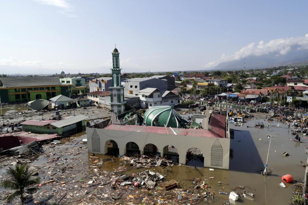 Séisme suivi d un tsunami en Indonésie  le bilan monte à 420 morts (photos  et vidéos) - Le Soir fa3b99e264a
