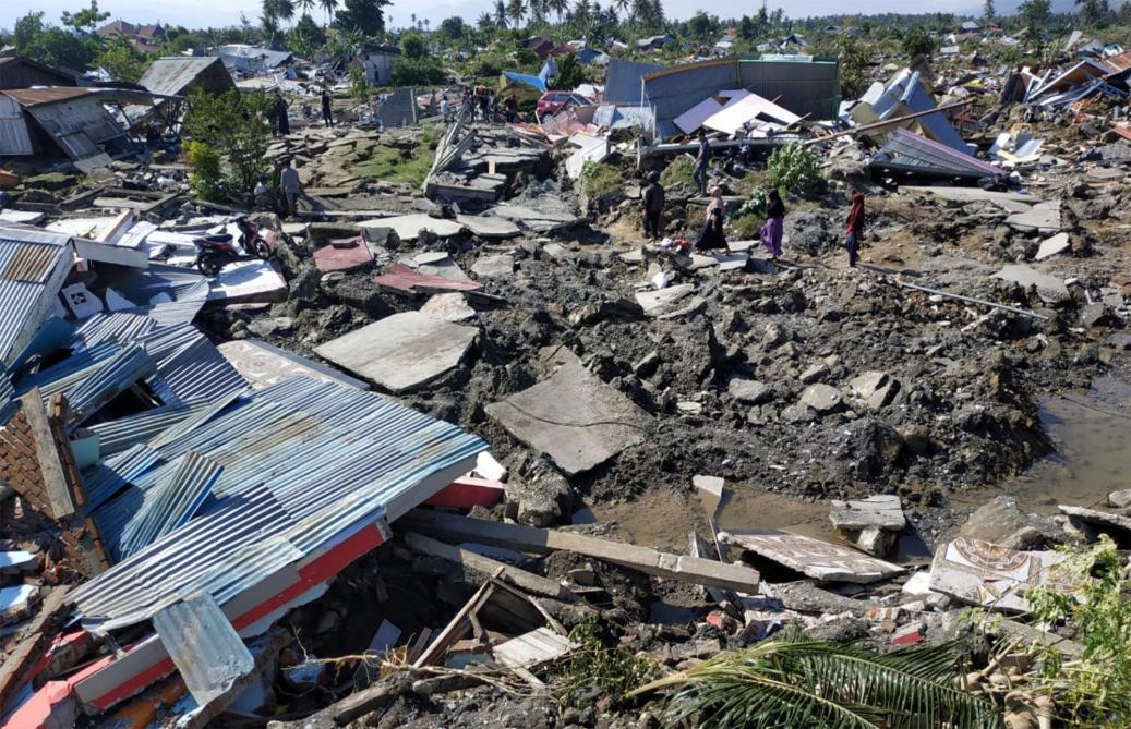 Tsunami en Indonésie — ALERTE
