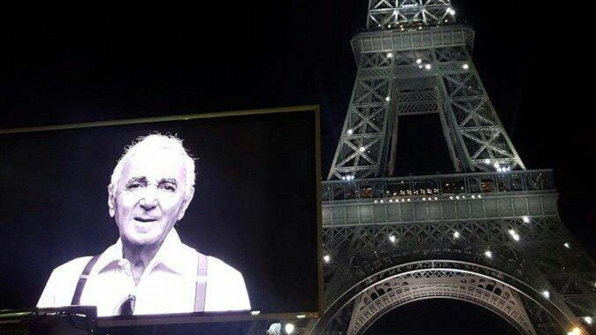 Hommage national à Aznavour vendredi matin aux Invalides