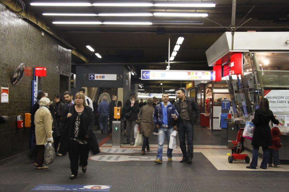 Évacuation de la station De Brouckère: la fermeture sera bientôt levée