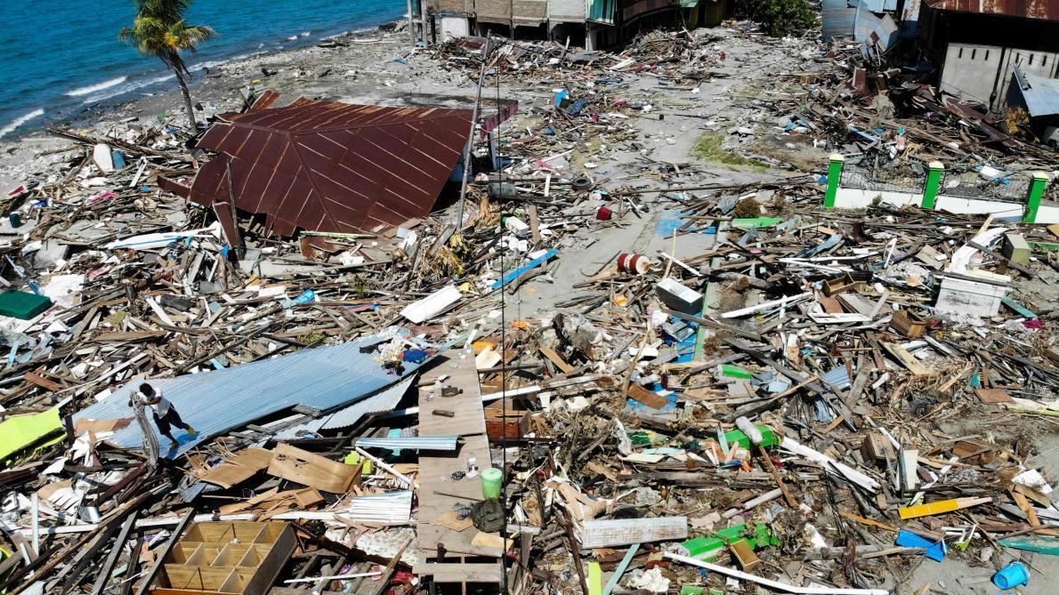 Indonésie : un nouveau bilan fait état de 1 649 morts