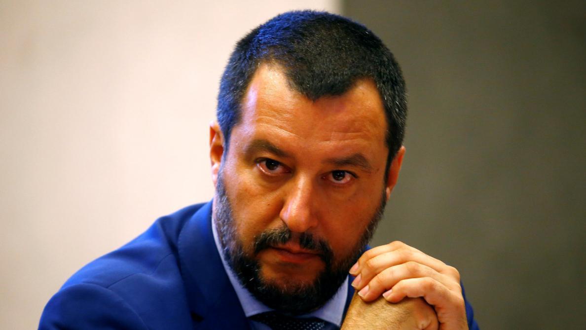 Salvini menace de fermer les aéroports pour contrer les