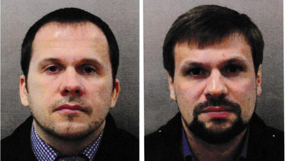 Poutine lié au deuxième suspect — Skripal