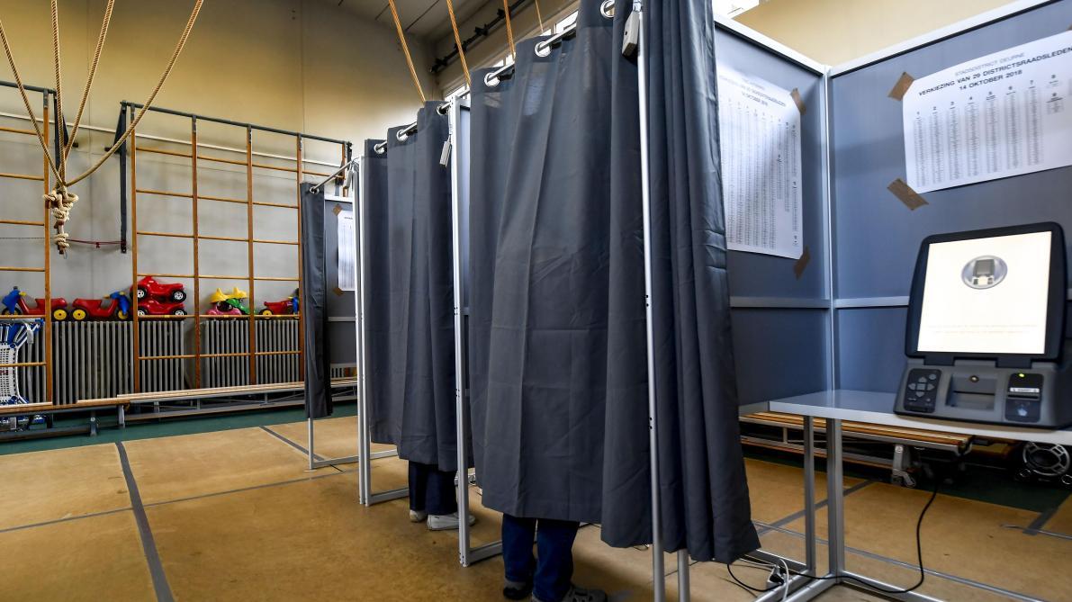 Communales 2018 à bruxelles: 30 bureaux de vote toujours touchés par