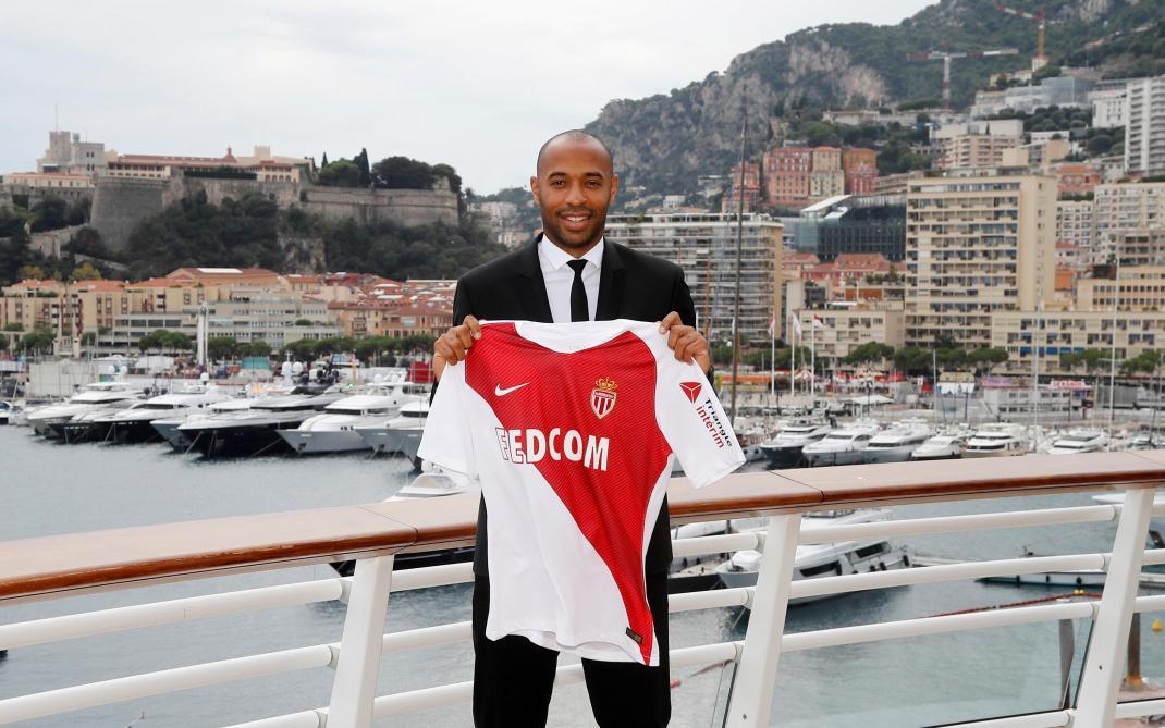 La vidéo émouvante de son arrivée à Monaco — Thierry Henry
