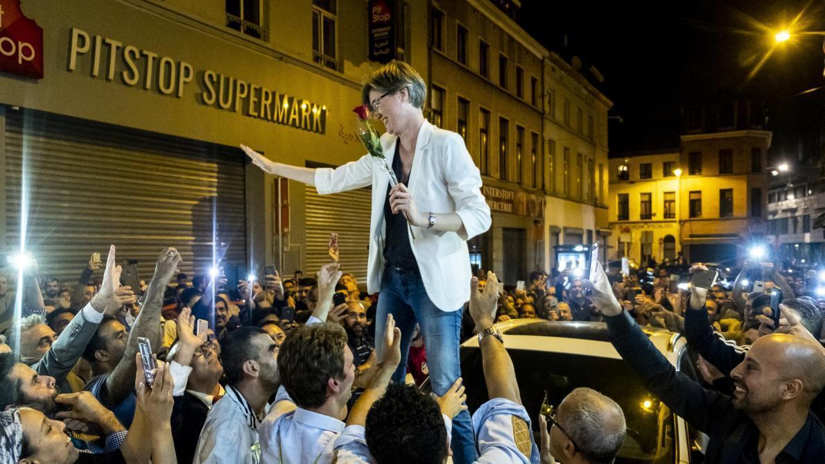 Theo Francken réagit à la photo de la victoire de Catherine Moureaux à Molenbeek