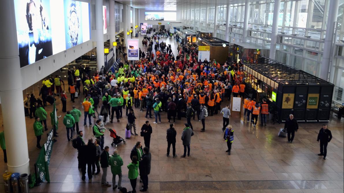 Un accord qui met fin à la grève — Aviapartner