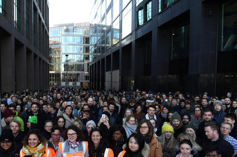 Les employés de Google protestent à travers le monde — Harcèlement sexuel