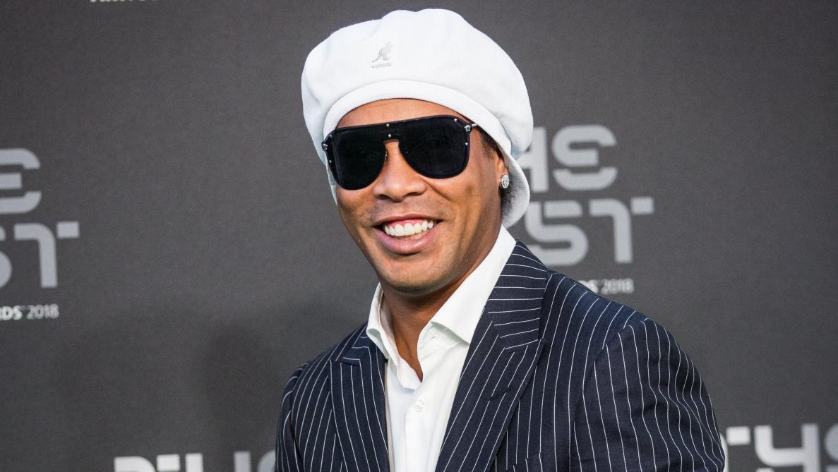 Plus que 6 euros sur le compte bancaire de Ronaldinho