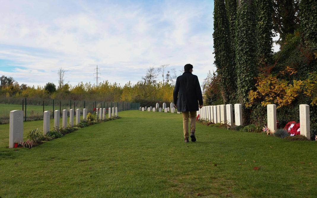 Centenaire 14-18 : deux soldats réunis dans la mort