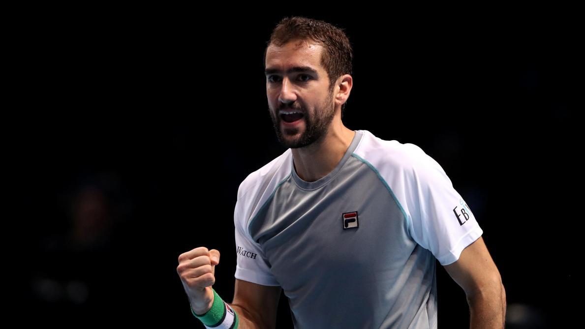 ATP Masters  Marin Cilic bat John Isner, Djokovic qualifié pour les demi- finales aec46bf5a07f