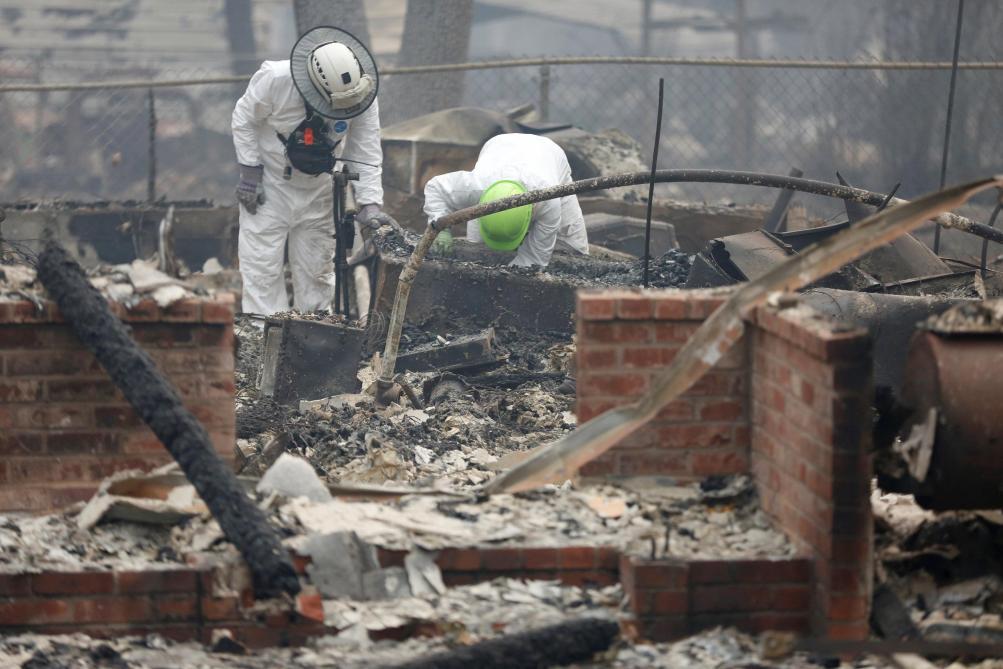 Le nombre de disparus dépasse 1 000 personnes — Incendie en Californie