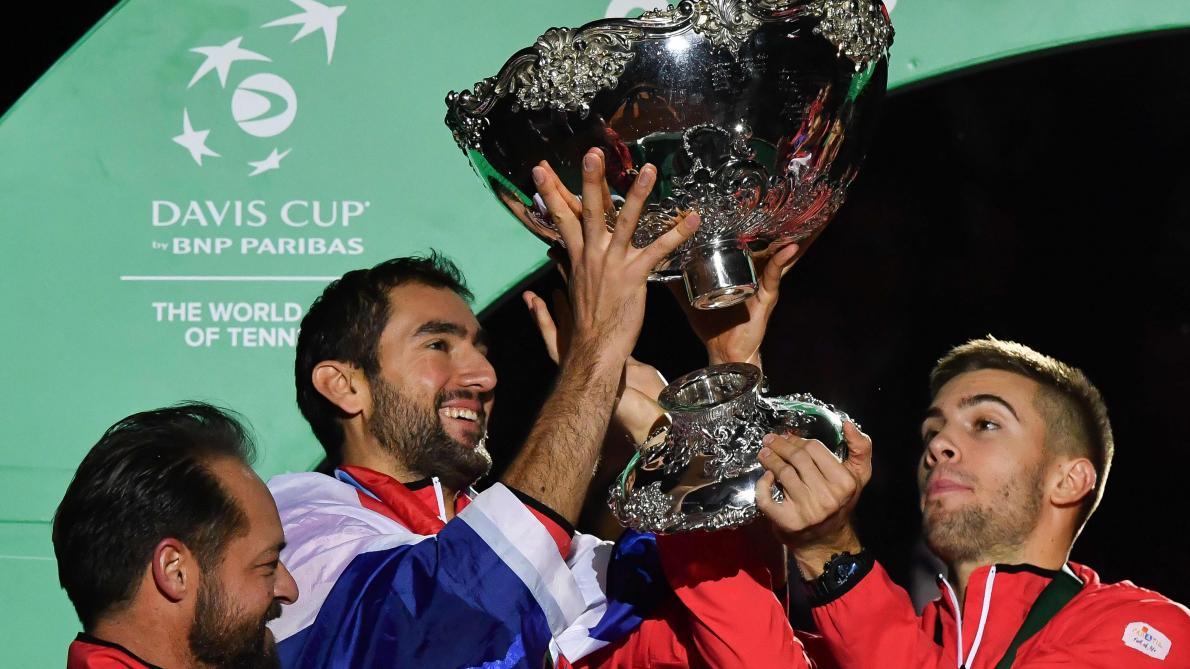 Les Français entretiennent l'espoir — Coupe Davis