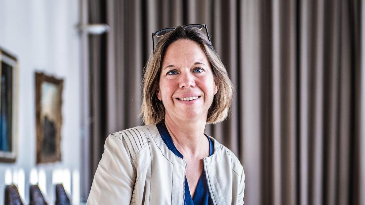 Sophie de Vos, bourgmestre f.f. of Auderghem, will be at the head of the collège le plus féminin.