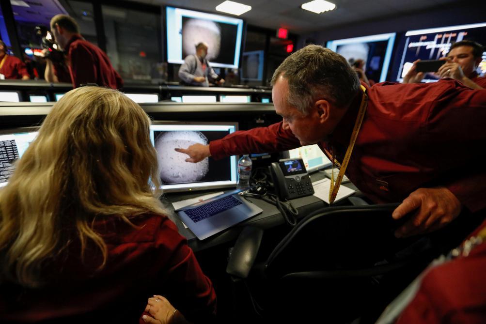 Les premières images de Mars prises par la sonde InSight ...