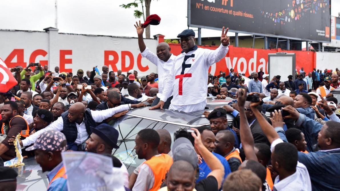 Marée humaine à Kinshasa pour accueillir Tshisekedi et Kamerhe — RDC