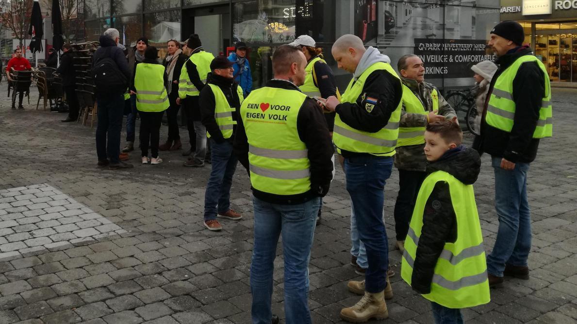 La manifestation des gilets jaunes à Bruxelles dérape — Photos