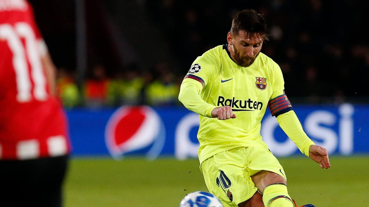 LdC Europe: Lionel Messi élu joueur de la semaine