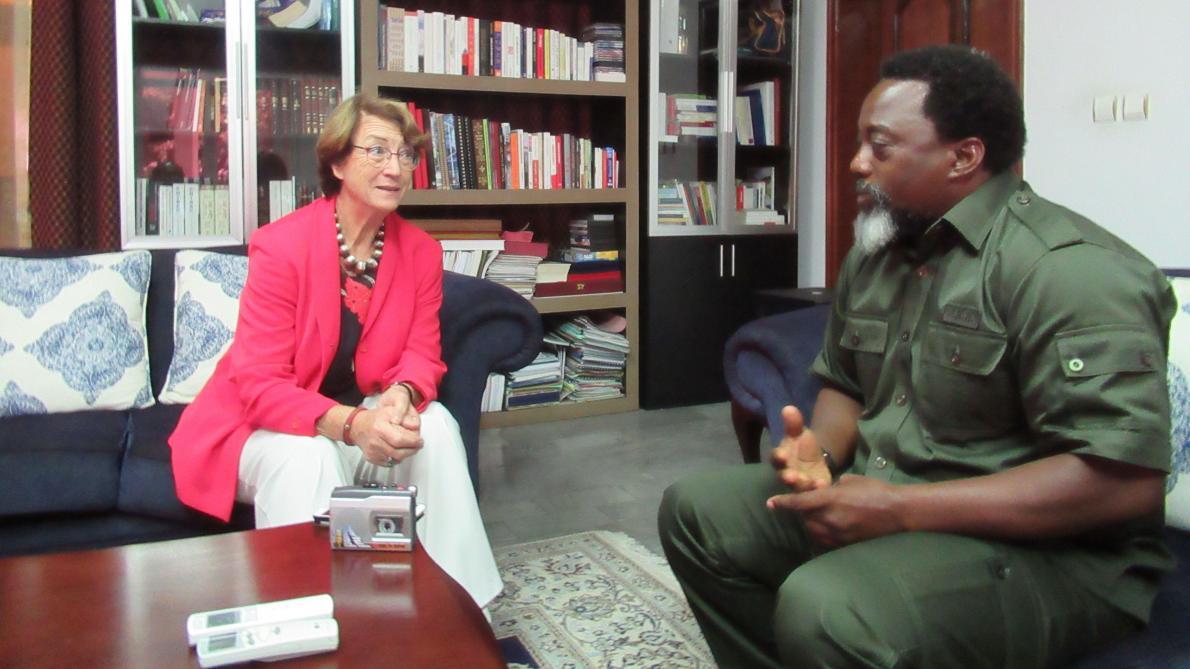 Il se prête rarement à l'exercice de l'interview. Pourtant, le président Kabila a accepté de faire le bilan de ses années au pouvoir avec notre collègue Colette Braeckman.