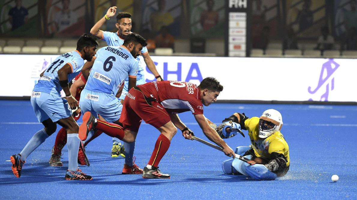 Coupe du monde de hockey les red lions arrachent le partage en fin de match contre l inde 2 2 - Coupe du monde de hockey 2013 ...
