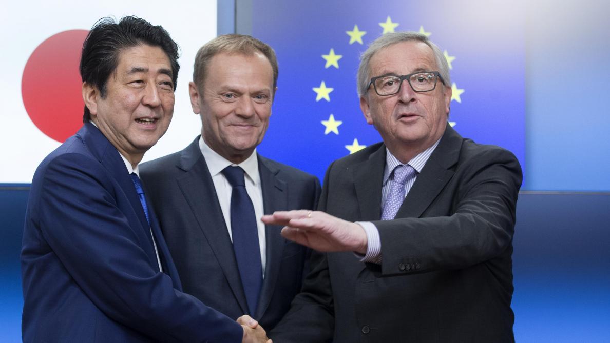 Accord commercial avec le Japon  nouvelle bronca des socialistes belges -  Le Soir Plus b7f508415c0