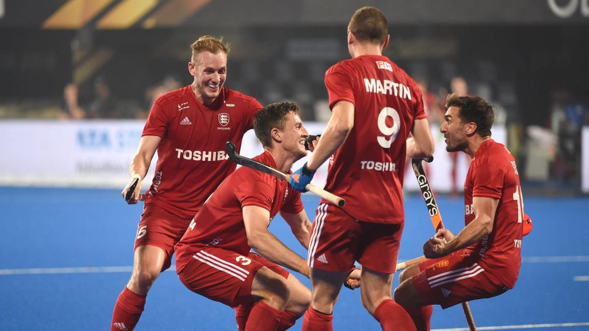 Coupe du monde de hockey l angleterre premi re demi finaliste apr s son succ s 3 2 contre l - Coupe du monde de hockey 2013 ...