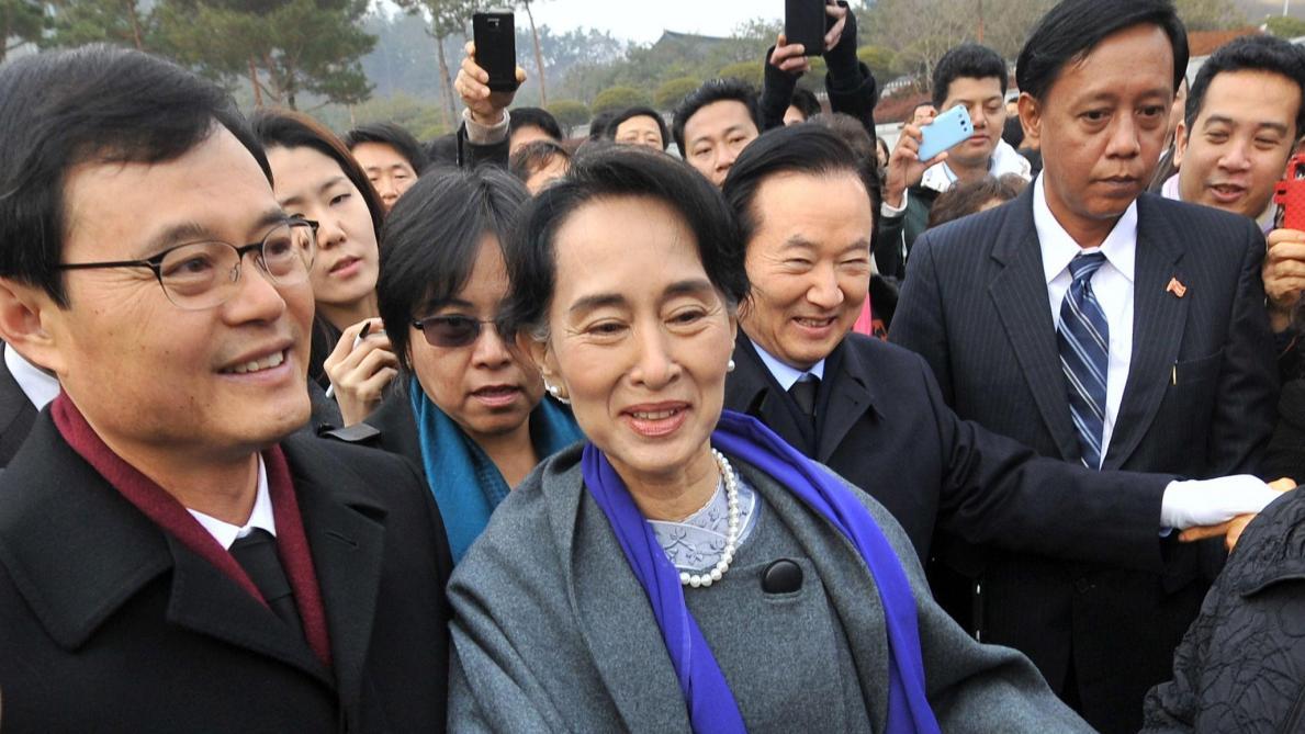 Aung San Suu Kyi déchue d un prix des droits de l Homme sud-coréen - Le Soir 1012b5a3563