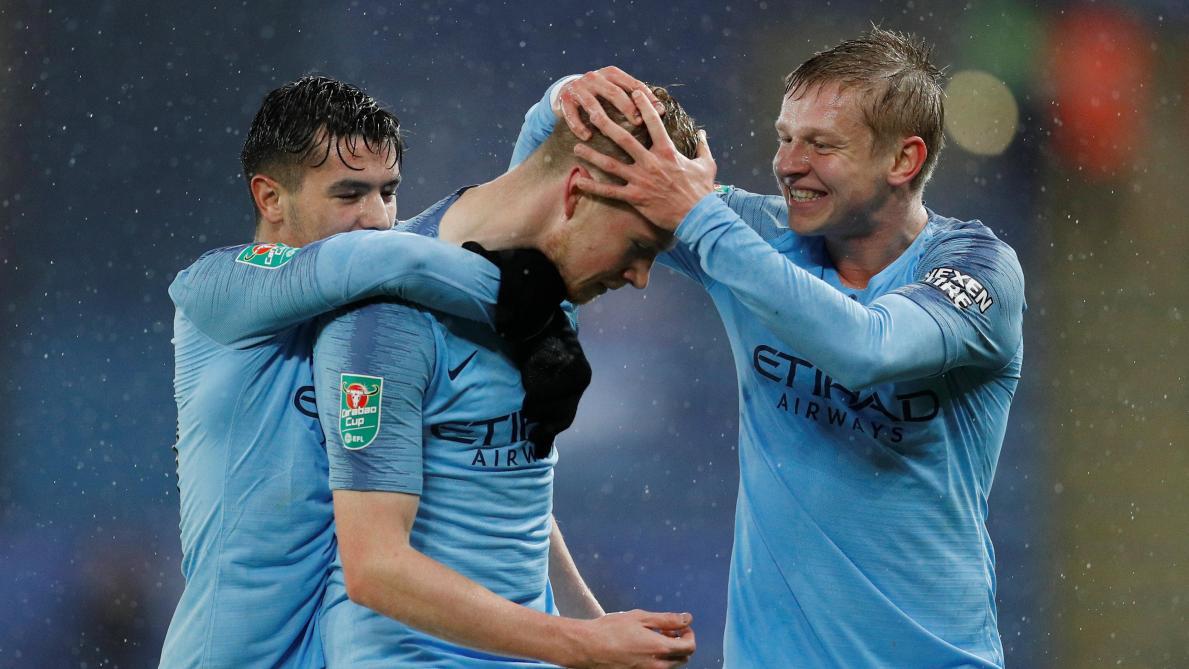 League Cup : Manchester City se fait peur à Leicester