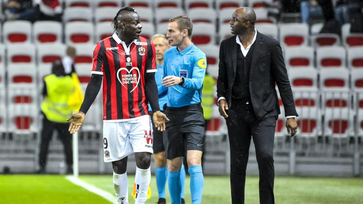 Ligue 1 Mario Balotelli Et Nice C Est Bientot Fini Le Soir