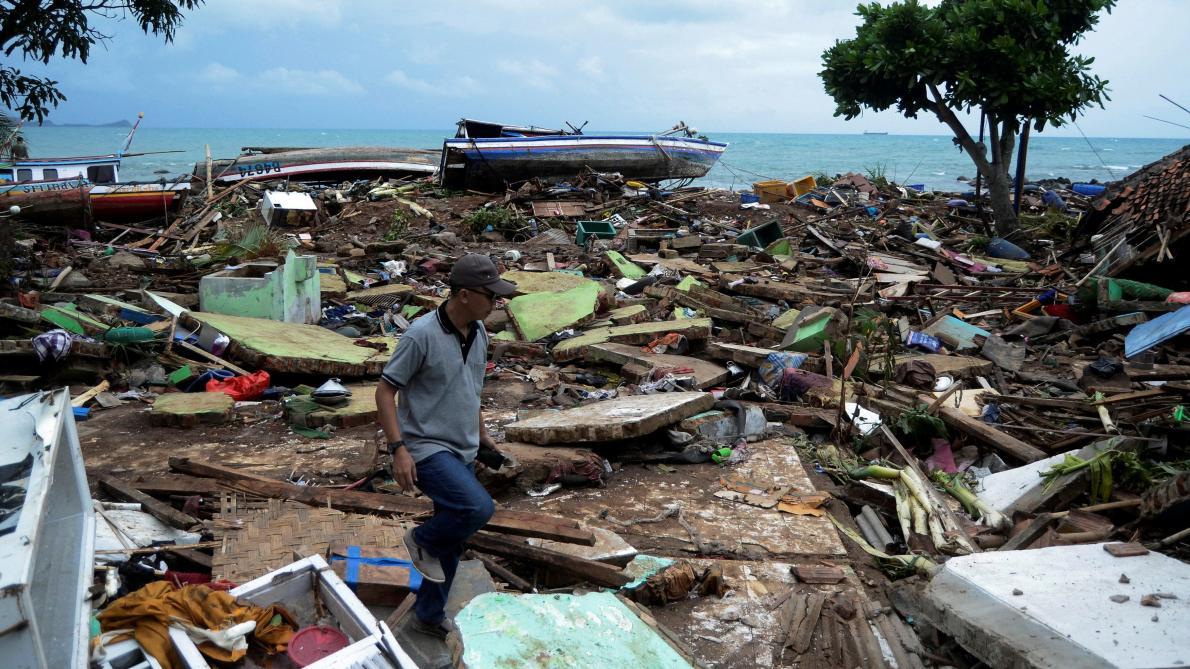 Vidéo Indonésie : la terrible désolation après le tsunami