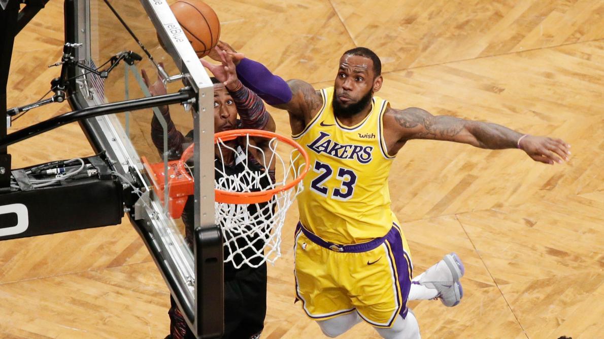 8435c452408 NBA  les Lakers en plein cauchemar