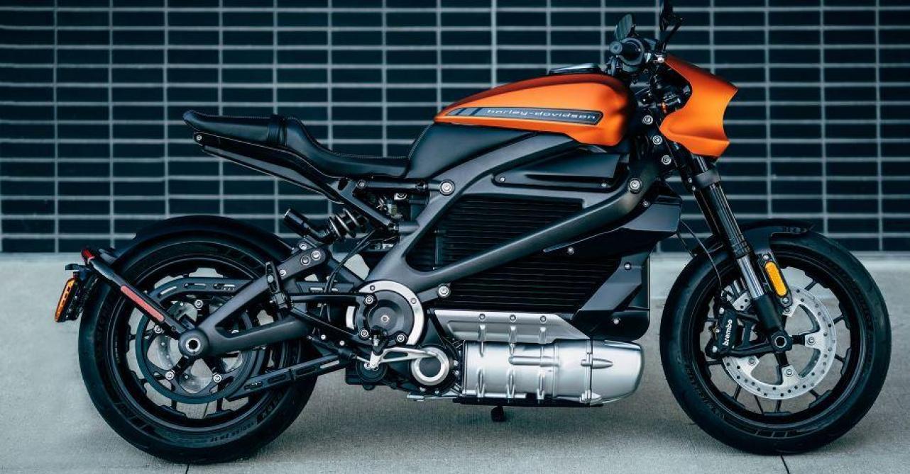 La Harley Davidson électrique en vente à Paris dès 2019 — LiveWire
