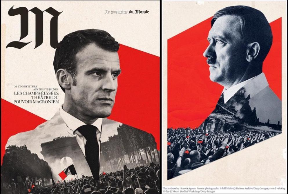 La copertina «incriminata» di Le Monde