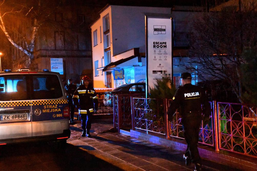 Cinq morts dans l'incendie d'un escape room — Pologne