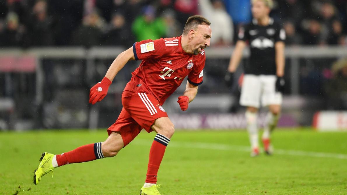 d30700ce57 Bundesliga: Franck Ribéry blessé à la cuisse lors du stage hivernal du Bayern  Munich au Qatar - Le Soir