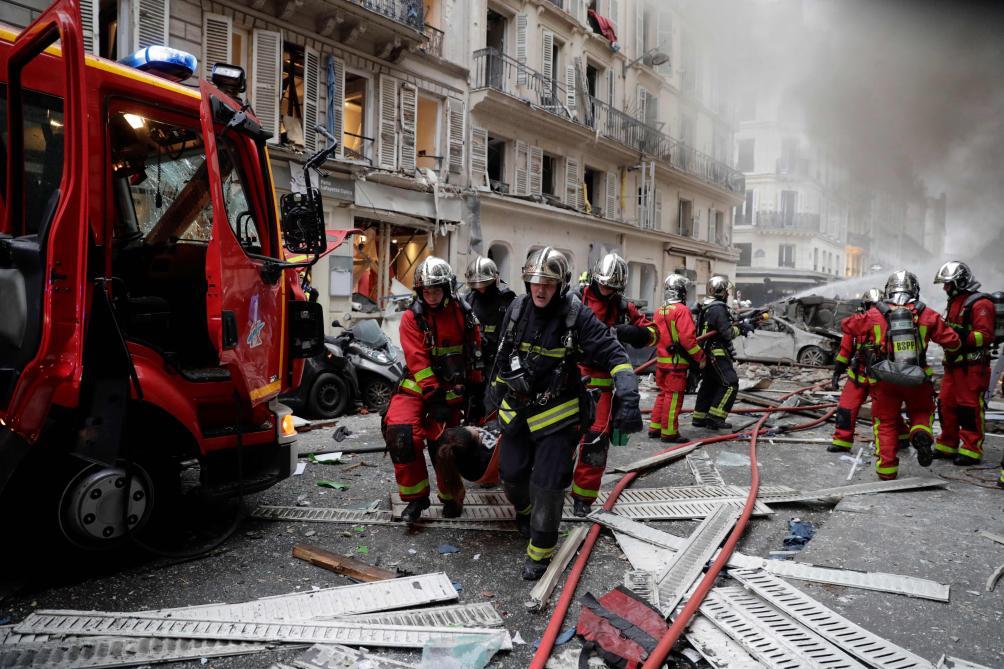 L'explosion rue de Trévise en dix images