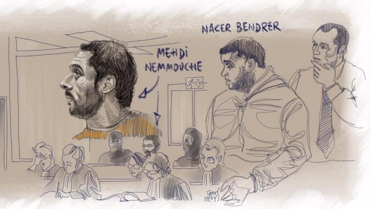 Procès Mehdi Nemmouche : l'accusé plaide non coupable
