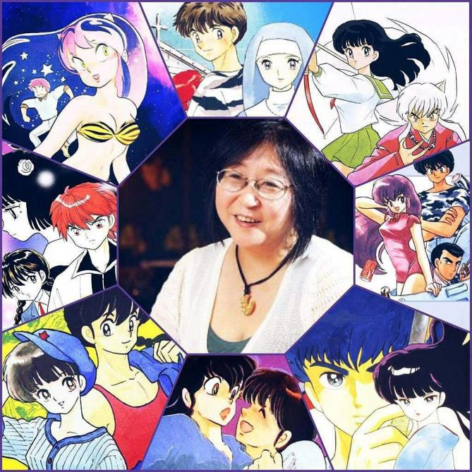 rumiko takahashi et ses personnages