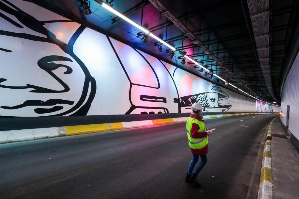 La réouverture du Tunnel de Hal: les photos