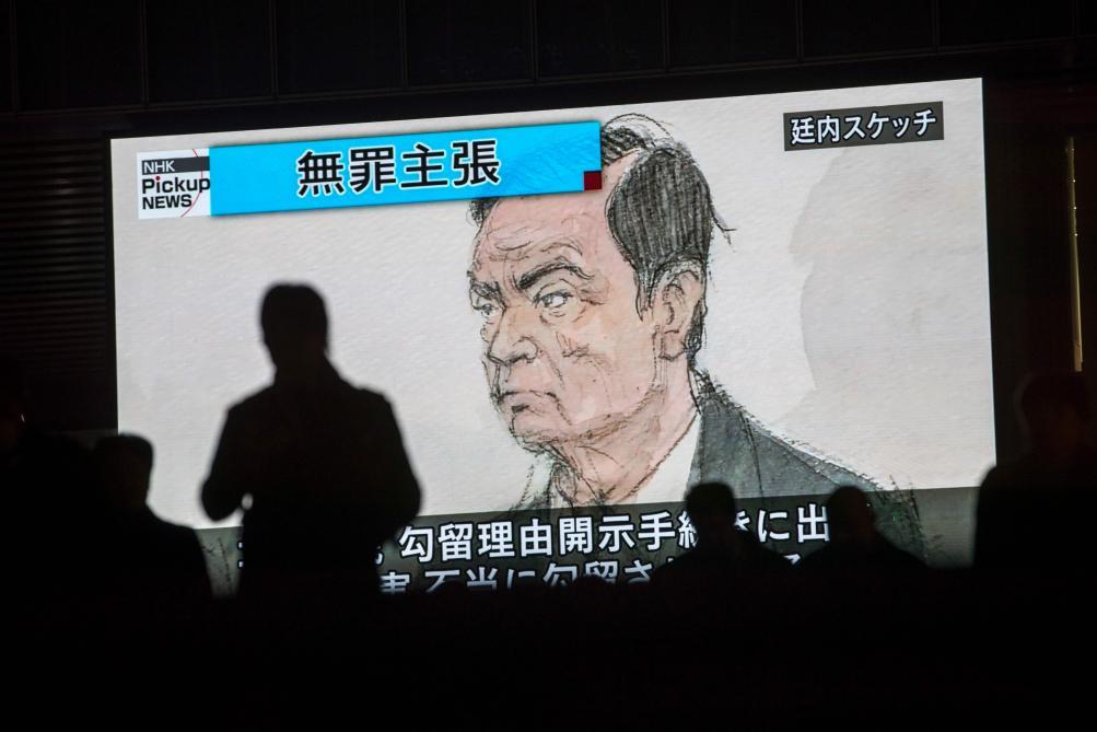 Affaire Carlos Ghosn  Paris exhorte Tokyo à envisager une fusion  Renault-Nissan, selon les médias japonais - Le Soir 8b61853346a