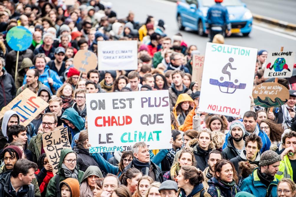 Les jeunes manifestent à nouveau pour le climat à Bruxelles: des embarras de circulation à prévoir